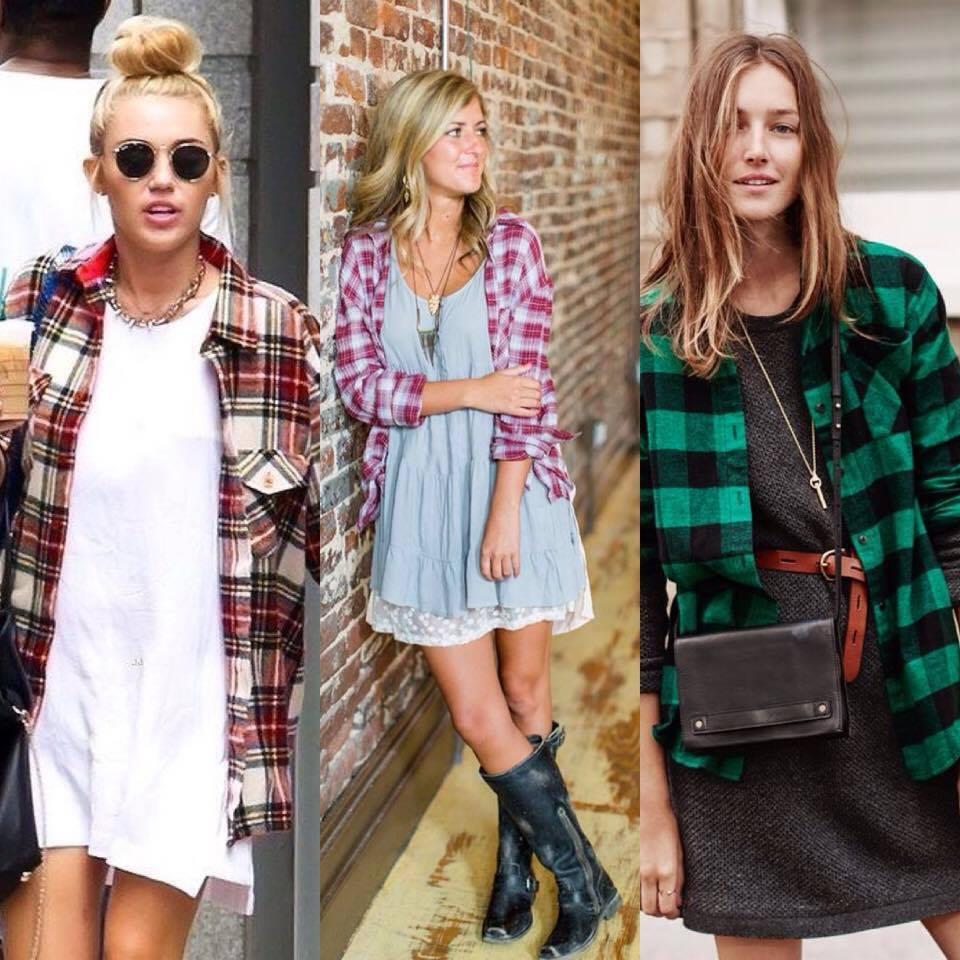 da47bb09e672 10 τρόποι για να φορέσεις ένα καρό πουκάμισο και το χειμώνα – Simply ...